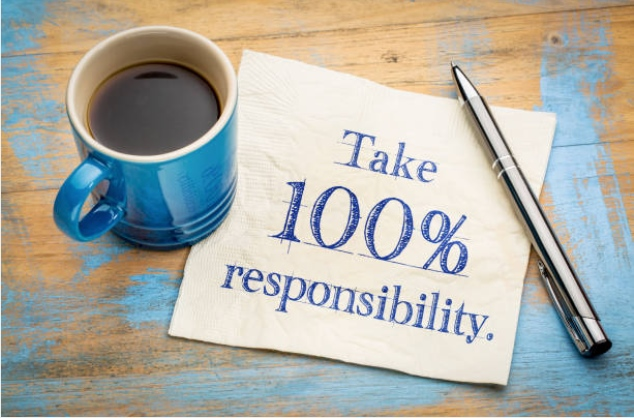 Taking Full Responsibility for your life living at cause